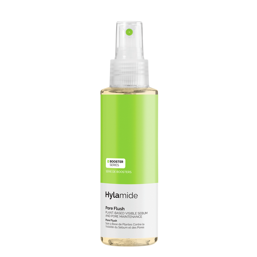 Hylamide Hylamide Pore Flush mist to combat shine, congestion, and visible appearance of pores